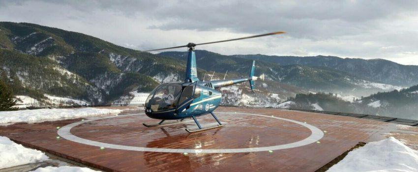 Balkan Helicopters organizuje panoramske letove iznad Mokre Gore