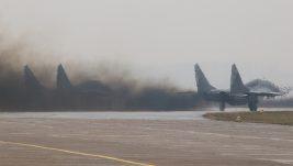 [VIDEO] Startovanje dežurne pare MiG-ova 29