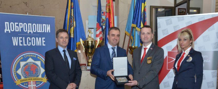 """Potpisan Protokol o saradnji između """"Nikole Tesle"""" i Internacionalne policijske asocijacije"""