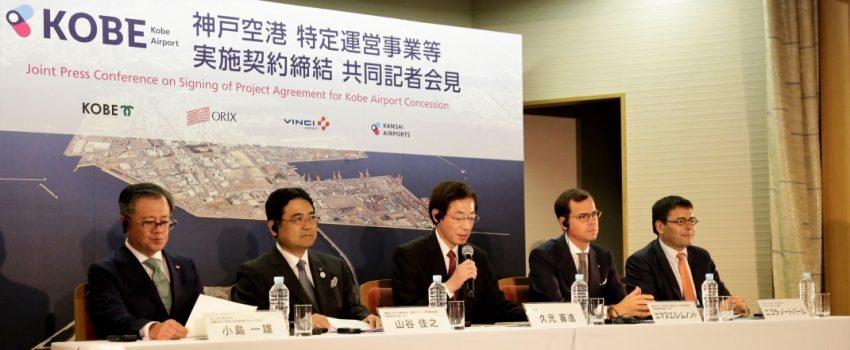 Poslednji koncesioni ugovori kompanije Vinci Airports; Pod koncesijom i tri japanska i jedan brazilski aerodrom