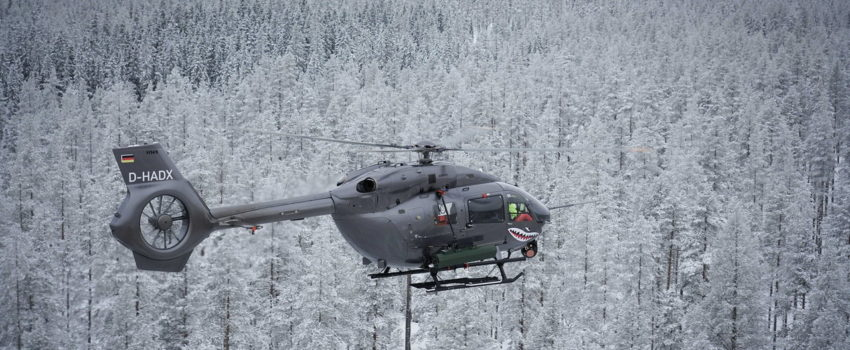Erbasov helikopter H145M prošao uspešna testiranja laserski vođenih raketa u Švedskoj