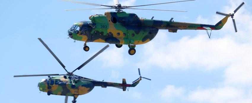 Trenutno stanje i perspektive: Vojne helikopterske flote Hrvatske, Makedonije, BiH i Crne Gore