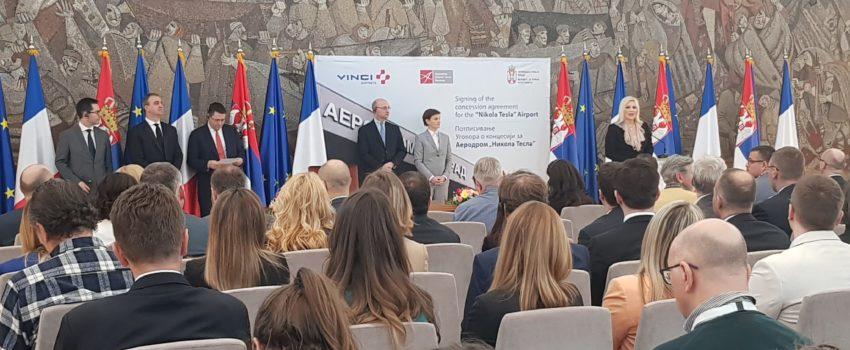 """Vlaisavljević: Koncesionar """"Teslu"""" preuzima najranije 15. septembra, Ugovor će biti javan; Vansi: Uvodimo linije za Čile i Lisabon"""