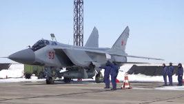 "Ruski MiG-ovi 31 na dežurstvu s hiperzvučnim raketama sistema ""Kinžal"""
