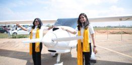 Pipistrel ponovo pravi vesti – prve Indijke na letu oko sveta u Sinusu 912