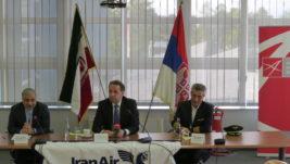 Obeležen početak letova kompanije Iran er na liniji Teheran-Beograd; Do juna rasprodate sve karte