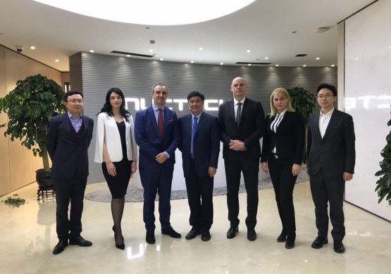 """Menadžment """"Tesle"""" posetio sedište i fabričke pogone kompanije Nuctech u Pekingu"""