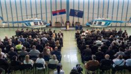 [EKSKLUZIVNO] Ministar Stefanović: MUP dobija četvrti H145M, U planu i dva nova transportna helikoptera