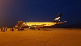 [EKSKLUZIVNO] Prve fotografije i video novog aviona u floti Montenegro Erlajnza – Boinga 737-500