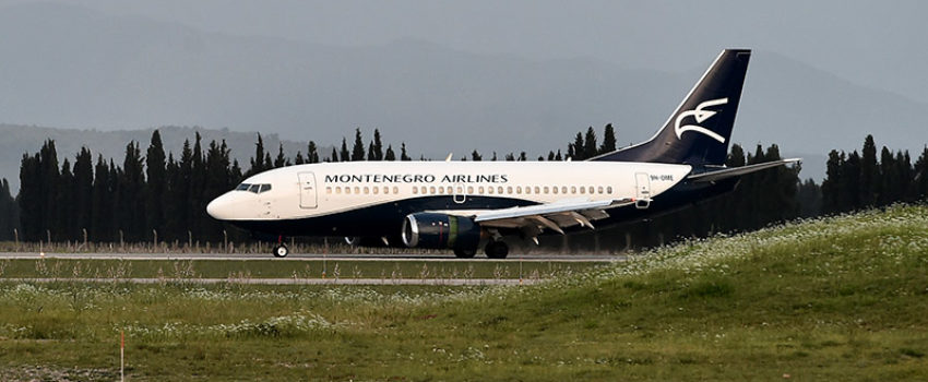 Montenegro erlajns u prvom kvartalu ove godine opslužio više od 80 hiljada putnika