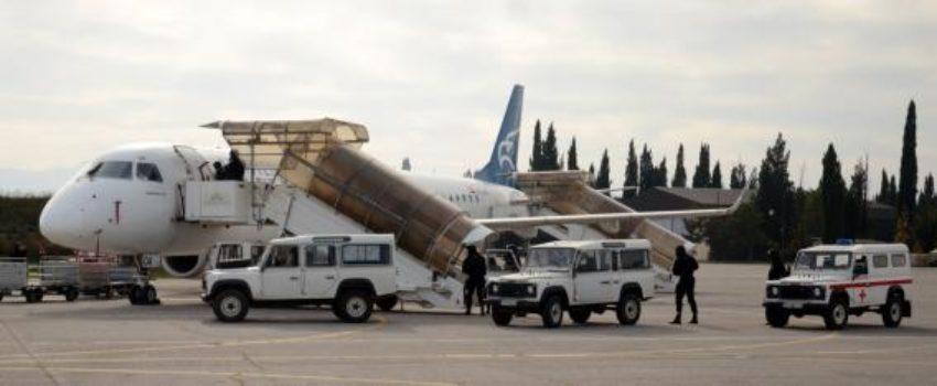 """Održana treća bezbednosna vežba """"Otmica vazduhoplova"""" na podgoričkom aerodromu"""