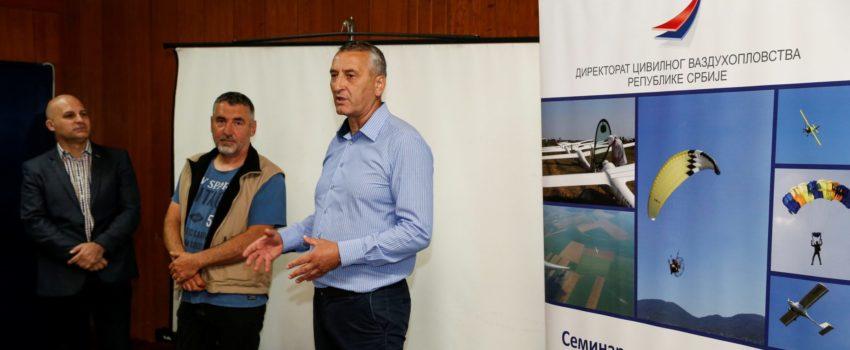 Direktorat civilnog vazduhoplovstva održao seminar o bezbednosti u vazduhoplovstvu u Jagodini