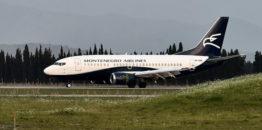 Montenegro erlajns u prvom kvartalu ove godine prevezao 84 hiljade putnika