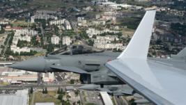 Tajfun i F-16 iznad Golubovaca: Pokaznom vežbom NATO započeo patroliranje vazdušnim prostorom Crne Gore