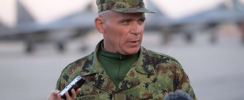 General Duško Žarković novi komandant RV i PVO