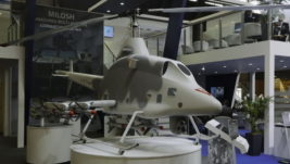 "Eurosatory 2018: Jugoimport prikazao redizajniranu domaću borbenu bespilotnu letelicu X-01 ""Stršljen"""