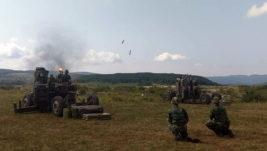 """Bojevo gađanje artiljerijsko-raketnih jedinica za protivvazduhoplovna dejstva na poligonu """"Pasuljanske livade"""""""