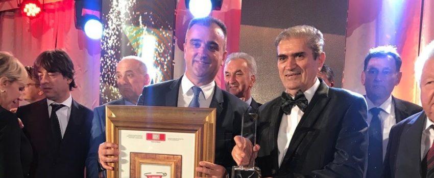 """""""Nikola Tesla"""" i Saša Vlaisavljević dobitnici nagrade """"Evropski najmenadžer i najkompanija 2018"""""""