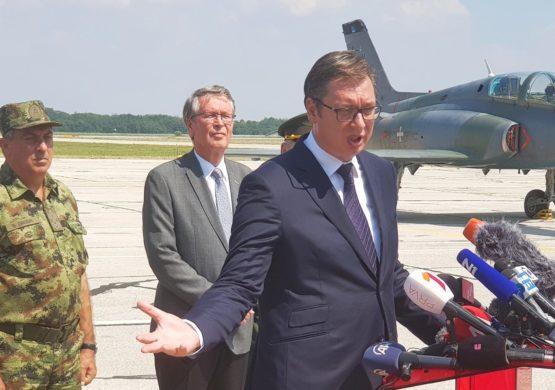 Vučić: Razvijaćemo pseudosatelit sa domaćom privatnom firmom, tražiću od Putina da dva Mi-35 dođu na paradu, MiG-ovi 29 nosiće imena poginulih pilota
