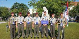 Članovi Vazduhoplovnog saveza Srbije i pripadnici Vojske Srbije na 42. Svetskom vojnom prvenstvu u padobranstvu u Mađarskoj