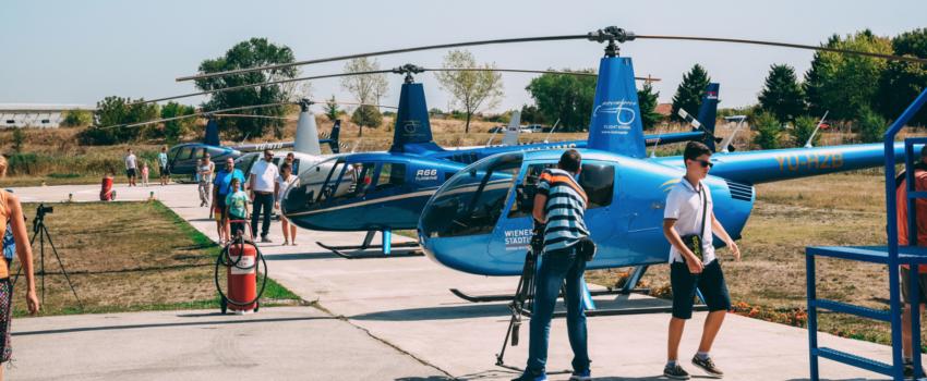[NAJAVA] Svetski dan helikoptera na helidromu u Dobanovcima; Specijalna prezentacija helikoptera AgustaWestland AW109