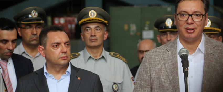 Vučić: Nastavićemo da ulažemo u razvoj domaćih bespilotnih letelica; Borbene bespilotne letelice iz Kine
