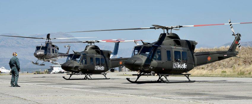 Vojsci Crne Gore isporučeni helikopteri Bell 412EPI