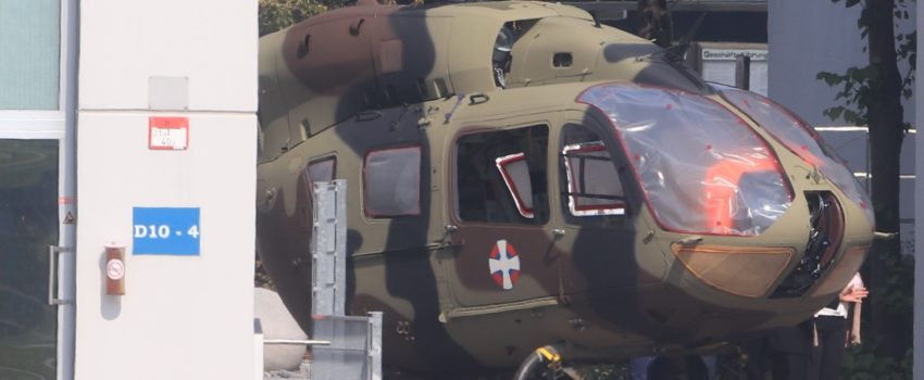 Objavljena prva fotografija helikoptera H145M namenjenog Vojsci Srbije