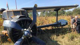 Detaljnije o udesu aviona An-2 kod Jagodine: Kvar motora, ulje na vetrobranskom staklu, plamenovi ispod kapotaža pred udarac krilom o drvo