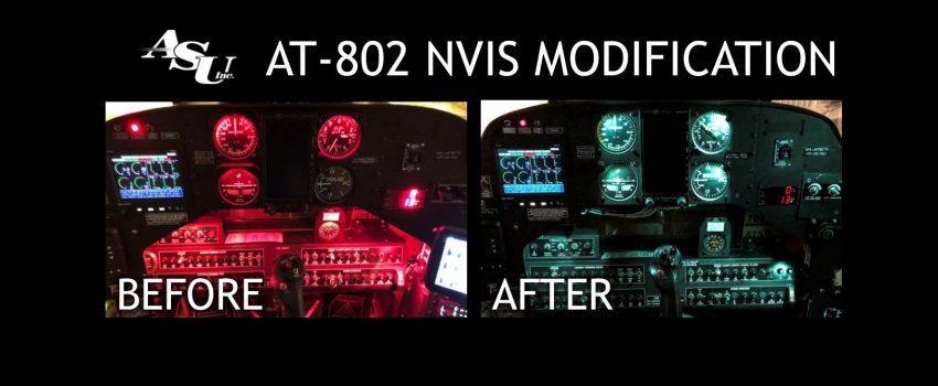 Firma ASU doradila avione Air Tractor AT-802 za prve noćne protivpožarne operacije uz NVG upotrebu