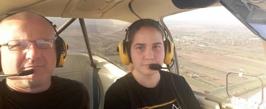 Nikolina Adamov – pilot sa 17 godina