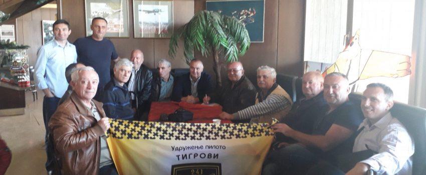 """Održano predstavljanje Udruženja pilota """"Tigrovi"""" u Muzeju vazduhoplovstva"""