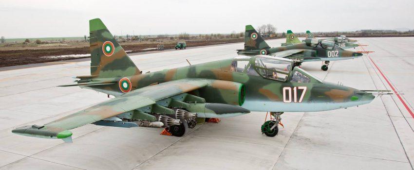 Belorusi remontuju bugarske jurišnike Su-25