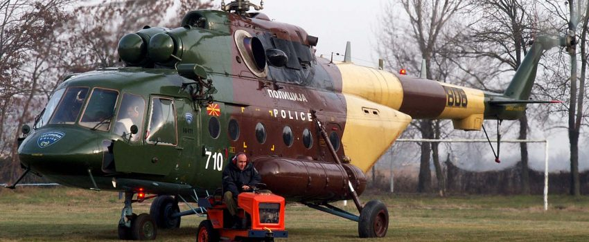 """Poleteo prvi makedonski Mi-17 remontovan u zavodu """"Moma Stanojlović"""""""