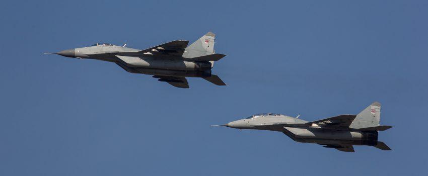 """Na vežbi """"Vek pobednika 1918-2018"""" leteće 24 vazduhoplova, među njima najverovatnije čak 8 MiG-ova 29"""