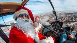 Balkan Helicopters organizuje panoramske letove iznad Beograda sa Deda Mrazom u ulozi pilota, Rezervacijom preko Tango Sixa 10% popusta