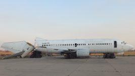"""[FOTO] Prvi Boing 737 otišao u večna lovišta: """"November Fox"""" na kilo"""