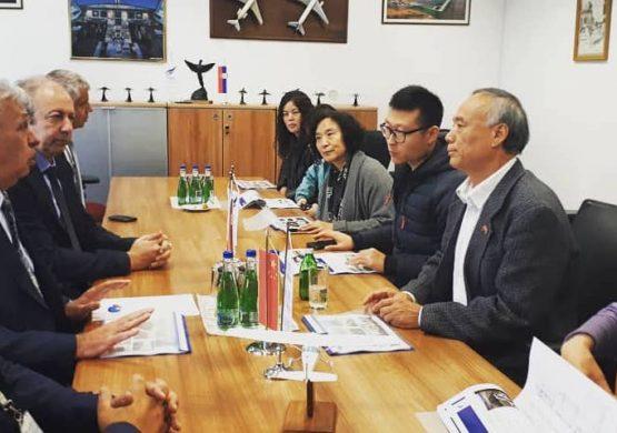 Ambasador Kine posetio SMATSA Vazduhoplovnu akademiju u Vršcu, Dogovorena saradnja o eventualnoj obuci kineskih studenata