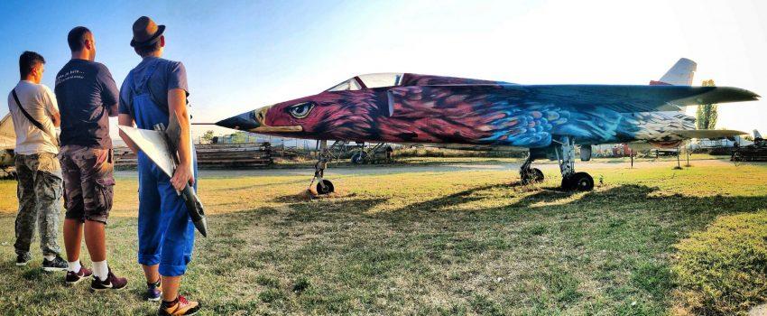 Novo lice Orla: Smeju li se avioni u Muzeju vazduhoplovstva farbati na ovakav način?