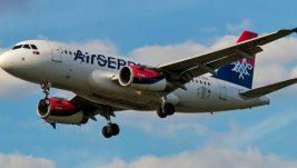 Besplatne povratne avio-karte svakom stotom putniku Er Srbije od 1. do 27. decembra