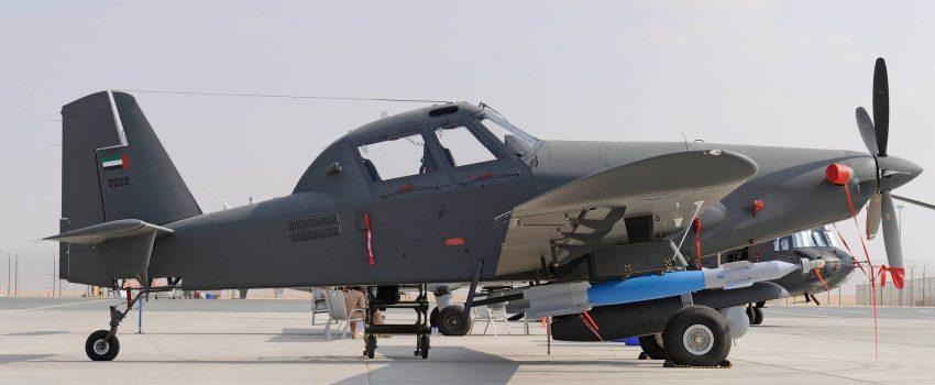 Jordanski vojni piloti aviona AT-802 na obuci u Španiji
