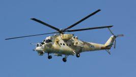 Prizemljeni kiparski jurišni helikopteri Mi-35P