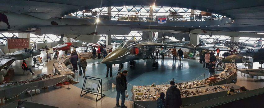 """[VIDEO] Jedanaesti """"Novogodišnji kup"""" maketara u Muzeju vazduhoplovstva"""