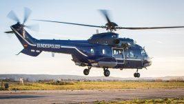 Nemačka Savezna policija pojačava flotu Super Puma isporukom helikoptera H215