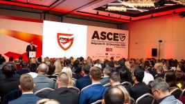 [VIDEO] Prvi kadrovi konferencije o obezbeđivanju aerodroma ASCE 2018
