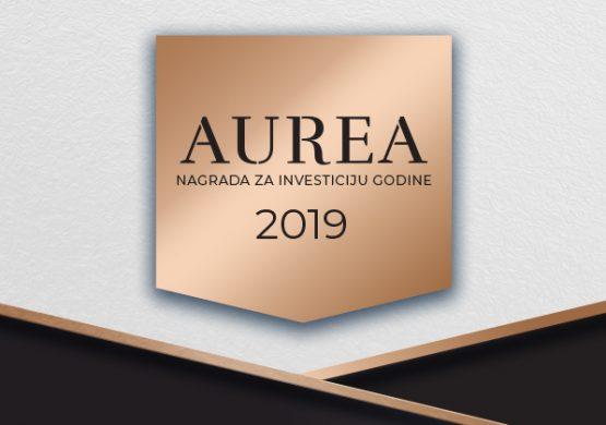 Raspisan konkurs za nagradu za investiciju godine Aurea 2019; Prijave otvorene za sve privredne grane