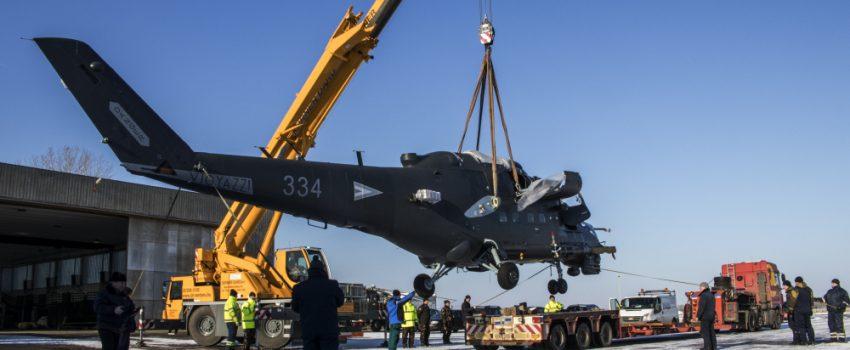 Mađarskoj sa remonta stigla još 4 desantno-jurišna helikoptera Mi-24