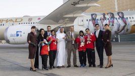 Etihad ervejz predstavio novu šemu bojenja u znak podrške Specijalnih olimpijskih igara u Abu Dabiju