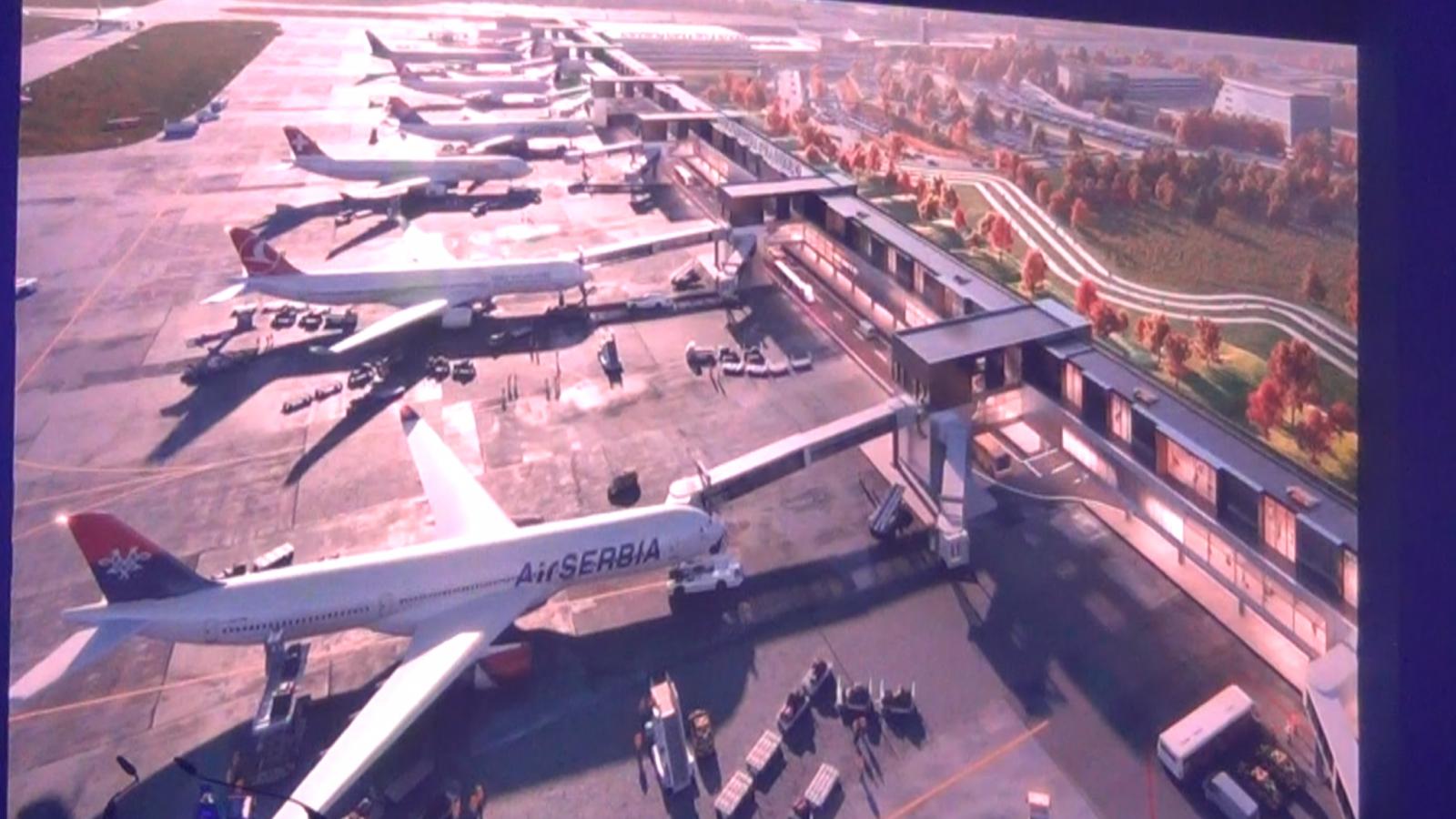 [POSLEDNJA VEST] Prve fotografije mogućeg novog izgleda Aerodroma Nikola Tesla: Drugi sprat aerodroma, najavljeni loukosteri i Norvidžn Er?