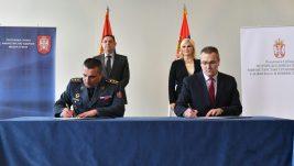 """Potpisan zapisnik o pregledu i stanju nepokretnosti """"Morave""""; Mihajlović: Civilni deo aerodroma operativan od 28. juna"""